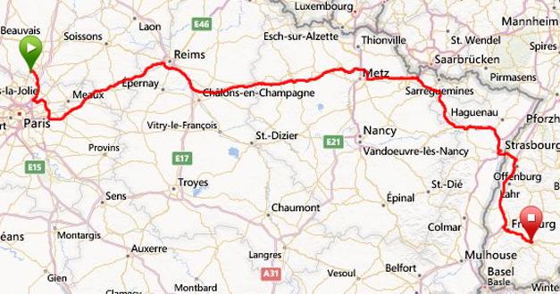 2013 julen Chantilly-Hinterzarten