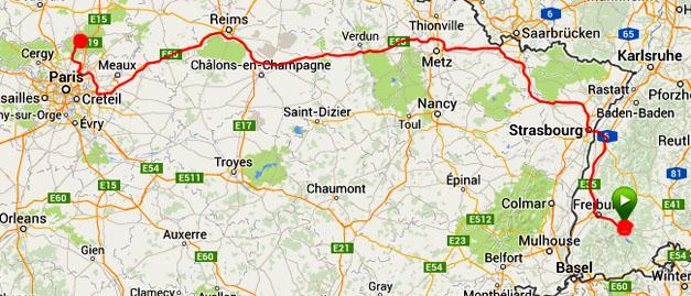 Hinterzarten - Chantilly 28 dec 2013