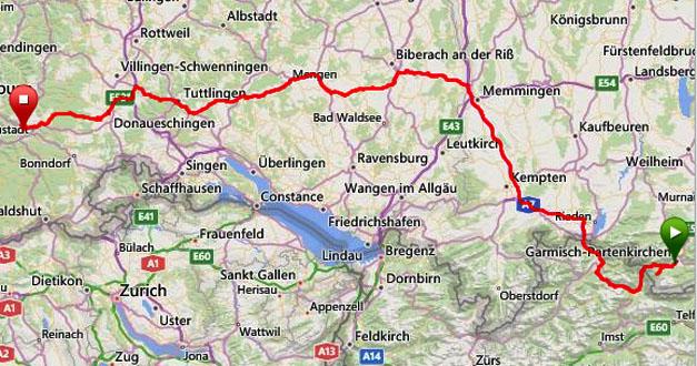 20140818 Garmisch-Hinterzarten køretur