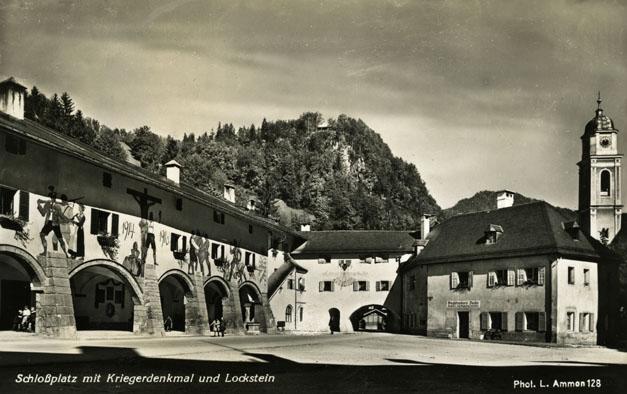 img368 Berchtesgaden m Lockstein og Krigerdenkmal