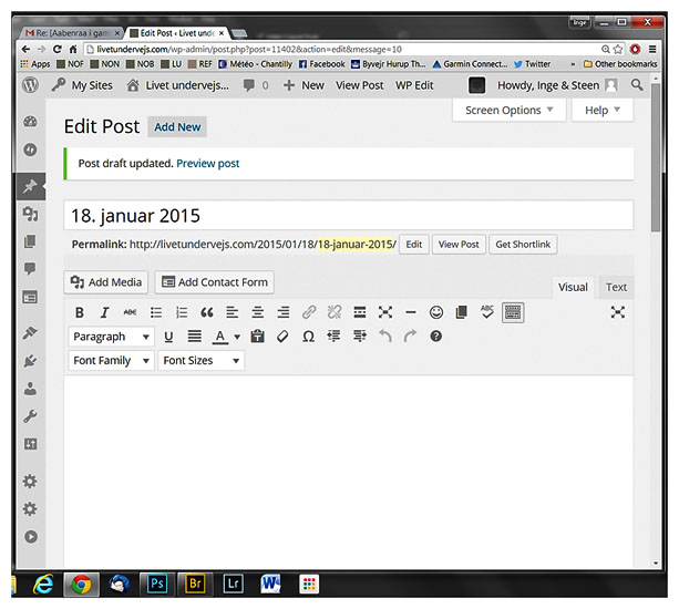 wordpress  print screen